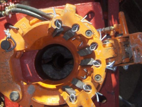 Yellow gear demonstrating the service provided to companies